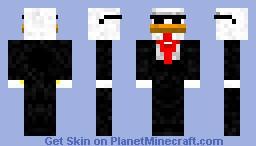 Chicken Agent Minecraft Skin