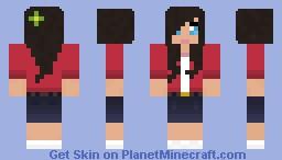 Summergirl Minecraft Skin