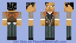 Booker DeWitt -Bioshock Infinite- Minecraft Skin