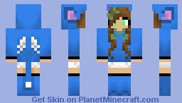 Happy Inspired Girl Minecraft Skin