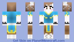 Chun-Li From Street Fighter-Rin collection~ Minecraft Skin