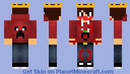 Cranberry eater Minecraft Skin