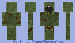 Army Sniper Woodland ghillie camo By: Nasseex