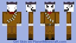 Mexican Bandit Skeleton Minecraft Skin