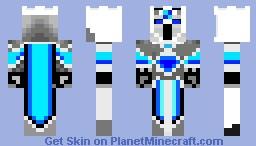 white knight Minecraft Skin