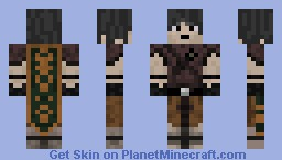 Medieval Guy with Cape Minecraft Skin