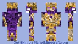 Enderlord I Oblivion The God Of The End Minecraft Skin