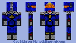 Space Man Minecraft Skin