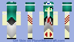 Zombie Prom Queen (Triple Scoop's Request.) Minecraft Skin
