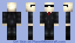 Swag Slenderman Minecraft Skin
