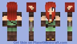 Elven Warrior Minecraft Skin