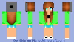 TomBoy Girl Cute!!! Minecraft Skin