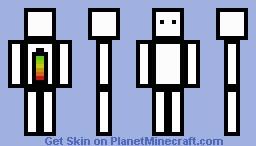 Boxi V2 Minecraft Skin