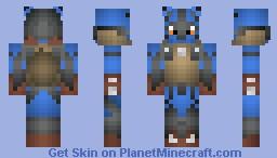 Mega Lucario (DEAD) Minecraft Skin