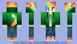 Ⓡⓞⓢⓔⓨ  Rainbow boy Man edition Minecraft