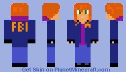 Kinzie Kensington Saints Row The Third Minecraft Skin