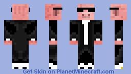 Swag Pig W/ Shades Minecraft Skin