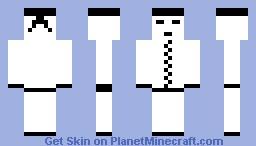 White Ninja Minecraft Skin