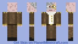 Doctor dimension steampunked no head ornamentation Minecraft Skin