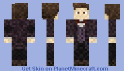 Doctor Who: 11th Doctor Series 7 Minecraft Skin