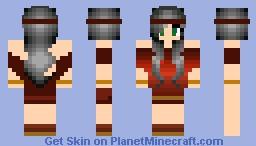 Roman Girl Minecraft Skin