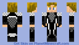 Peeta Mellark - The Hunger Game's Minecraft Skin