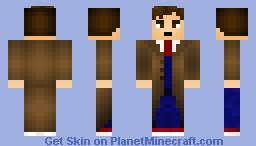 Doctor david tenant Minecraft Skin