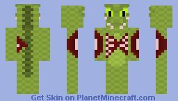 SCP-682 Minecraft Skin