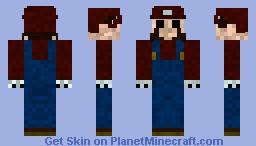 Dark Mario Minecraft Skin