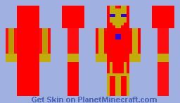 Iron Man Minecraft Skin