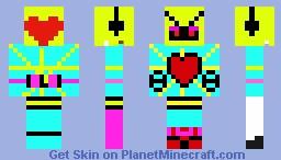 Tv Guy/ Yellow UK Minecraft Skin