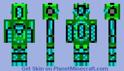 Cytus Cyclops Armor Minecraft Skin