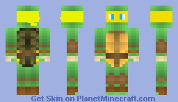 Yellow Ninja Turtle [ORGINAL] Minecraft Skin