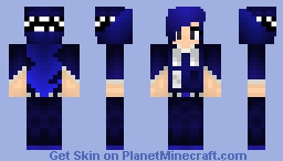 TARDIS girl Minecraft Skin