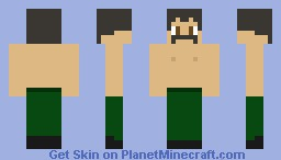 overly manly man Minecraft Skin