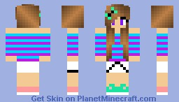 CuteGirl Minecraft Skin