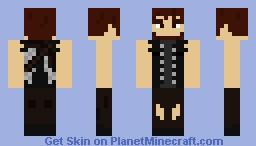 The Walking Dead Daryl Dixon Season 4 Preview Minecraft Skin