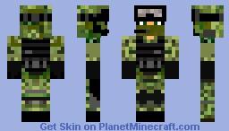 military Minecraft Skin