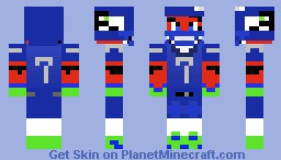 Seahawk Tiger Minecraft Skin