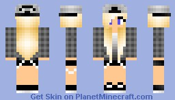 cool girl Minecraft Skin