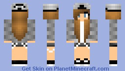This is the skin i use- Hipster girl Minecraft Skin