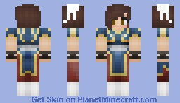 *Halloween* Chun Li costume Minecraft Skin