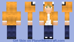Jake (Adventure time hoodie)(Take that orginality) Minecraft Skin