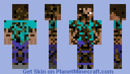 The infected Minecraft Skin