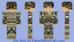 75th Army Ranger Minecraft Skin