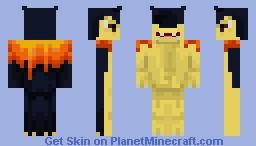 Typhlosion Minecraft Skin