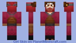 Roshi (Jinchuriki) -Now with Reanimated form- Minecraft Skin