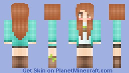 •agapl00• ~ this is me c: Minecraft Skin