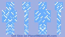 Ice Camo Minecraft Skin