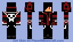 Death Teen Minecraft Skin